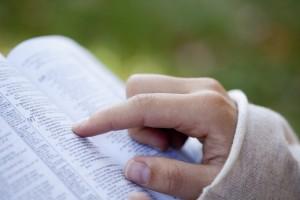 bigstock-Woman-Reading-The-Bible--24535199